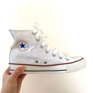 Hardly Worn Converse High Top